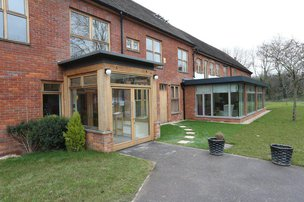 Hatch Mill Residential Home Farnham Porch