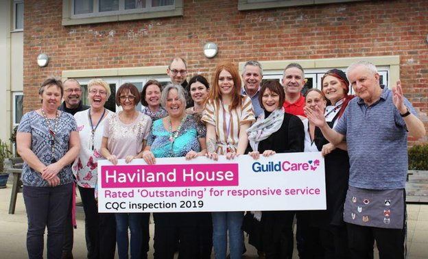 Haviland House Dementia Care Home Worthing Outstanding CQC
