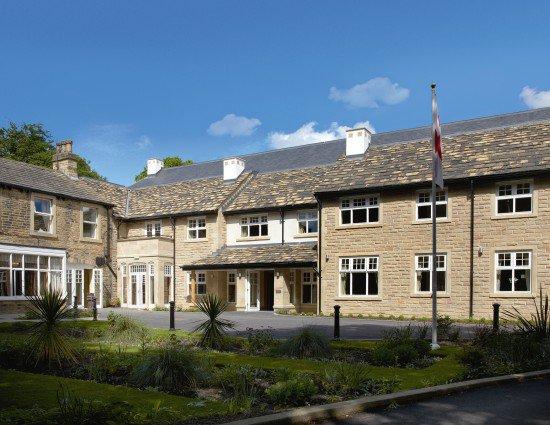 Headingley Hall Care Home in Headingley exterior of home