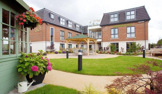 Heathfield Court Care Home in Northumberland Heath
