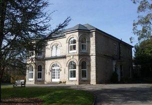 Hendra Court Nursing Home in Par, Cornwall exterior