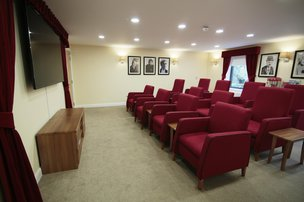 Hesketh Park Lodge Care Home Southport Cinema