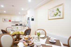 Hesketh Park Lodge Care Home Southport Dining Room
