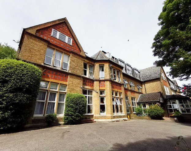 Hill House Care Home in Kenley, Surrey - exterior of home