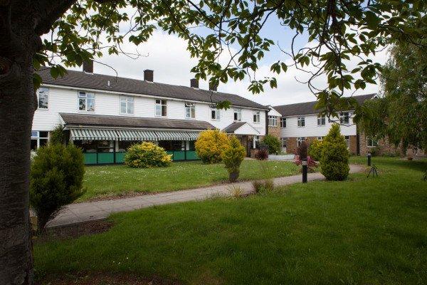Hillside Nursing Home in Romford rear exterior of home
