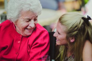 Cherry Wood Grange Care Home Chelmsford Resident and Carer