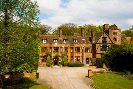 Huntercombe Hall Nursing Home in Henley On Thames front exterior of home