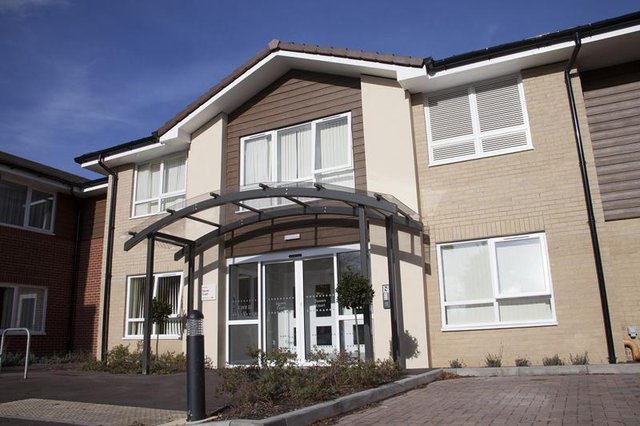 Davers Court Care Home in Bury St Edmunds front exterior