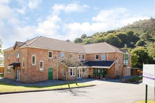 White Rose Care Home in Caerphilly exterior of home