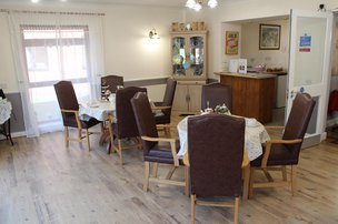 Maun View Care Home Sitting Room