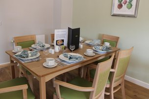 Maun View Care Home Dining Room