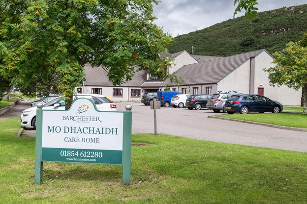 Mo Dhachaidh Nursing Home in Ross-shire exterior of home