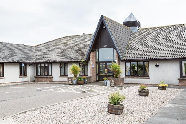 Pentland View Care Home in Burnside, Thurso outside of home