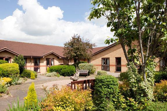 St Mary's Care Home in Scunthorpe exterior of home