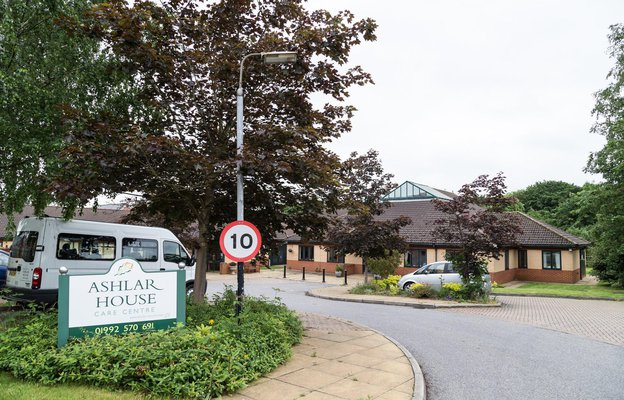Ashlar House Nursing Home in Epping exterior of home