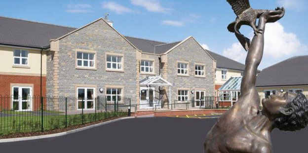 Immacolata House Care Home in Somerset Exterior
