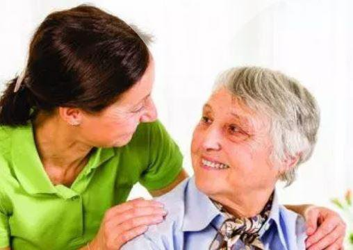 Independent People Healthcare Ltd in Chelmsford elderly lady with caregiver