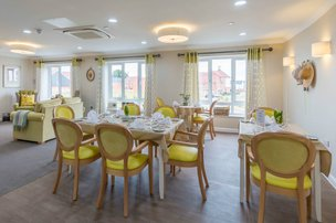 Invicta Court Care Home Weavering Dining Room