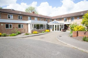 Kent House Care Home in Harrow exterior of home