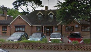 Green Willow Care Home in East Preston front exterior of home