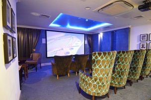 Cinema Room in Coombe Hill Manor