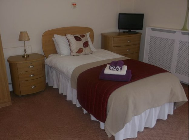 Bedroom at Kippen House Care Centre