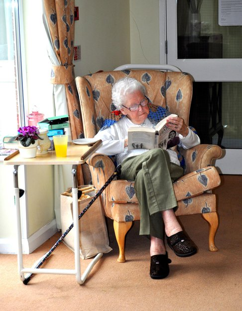 St Andrew's nursing home resident Sleaford Lincolnshire