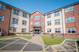 Larkhill Hall Care Home in West Derby, Liverpool Exterior