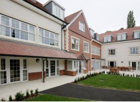 Lavender Fields Care Home in Sevenoaks exterior of the home
