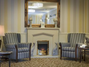 Lounge at Claremont Parkway Care Home