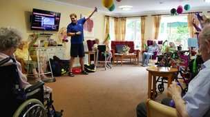 Lounge in Rowan Lodge Nursing Home