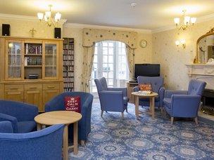 Lounge in Brampton View Care Home