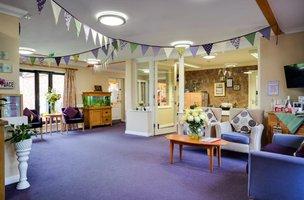 Lounge in Oak Lodge Nursing Home