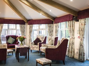Lounge in Lawton Manor Care Home