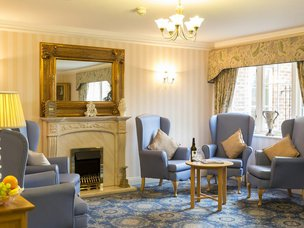 Lounge in Avery Mews Care Home