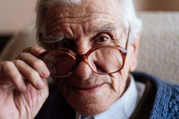 Edyn Home Care in London elderly man