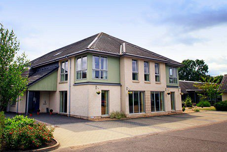 Marchglen Care Home in Alloa exterior of home