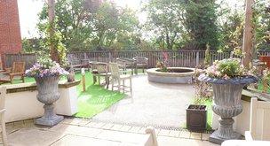 Rear Garden in Cliveden Manor