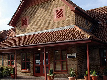 Maypole Care Home front exterior of home