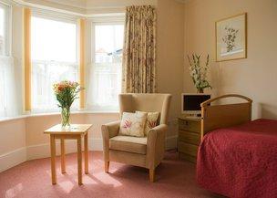 Melrose Care Home Bedroom