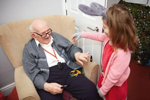 Melrose Care Home Residents