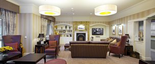 Lounge in Moorlands Lodge