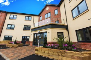 Mountview Care Home in Rothley, Leicester Exterior