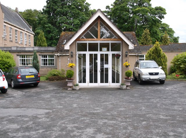 Nazareth House Bonnyrigg Care Home in Midlothian exterior of home
