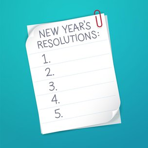 Top 5 New Years Resolutions for 2020