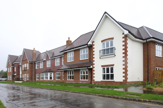 Parris Lawn Nursing Home in Ringmer front exterior of home