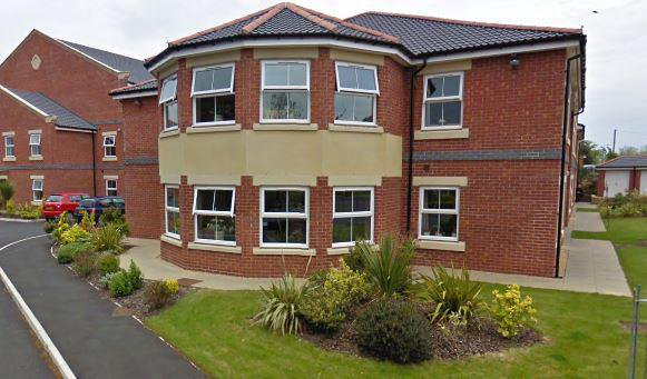 Penwortham Grange and Lodge Care Home in Preston exterior of home
