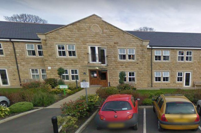 Sutton Hall and Lodge Care Home in Keighley exterior of home