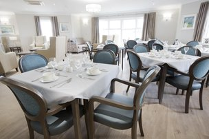 The Orchards Care Home in Cambridgeshire CB6 2FU Dinning Room 1