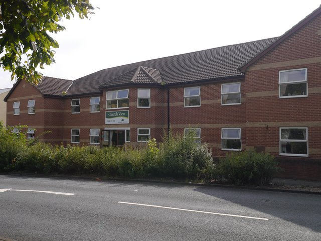 Church View Care Home in Durham front exterior